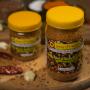 Homemade Flax Seed and Garlic Dry Pickle (Aalas ra Lasunko Chhaup) (आलस र लसुनको छोप) - 200g - Lotus Products