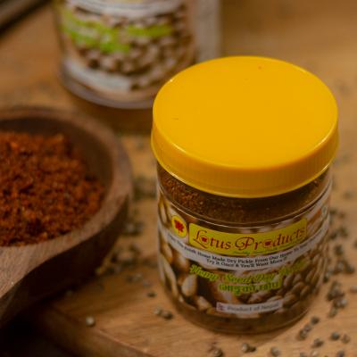 Homemade Hemp Seed Dry Pickle (भान्ग्को छॊप) - 100g - Lotus Products