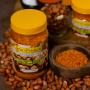 Homemade Peanuts and Garlic Dry Pickle (Badam ra Lasunko Chhaup) (बदाम र लसुनको छोप) - 200g - Lotus Products