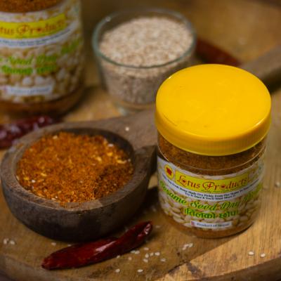 Homemade Sesame Seed Dry Pickle (Tilko Chhaup) (तिलको छोप) - 100g - Lotus Products
