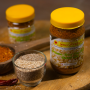 Homemade Sesame Seed Dry Pickle (Tilko Chhaup) (तिलको छोप) - 200g - Lotus Products