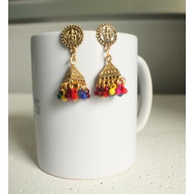 Handmade Pinjara Earring