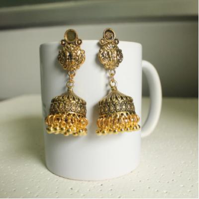 Pinjara Jhumka Earring