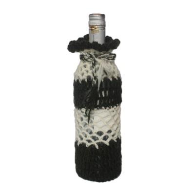 Bottle Cover Handknitted