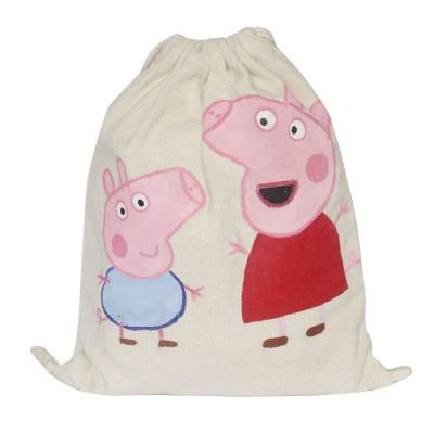 Bag pack handprinted