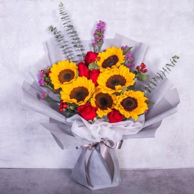Sunflower Bouquet (10 pieces)