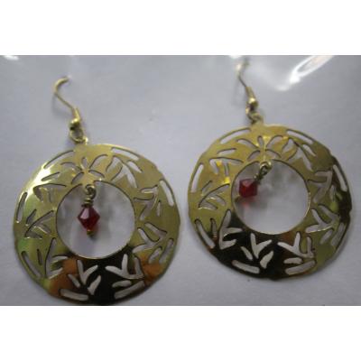 Circular Earring (Pearl)