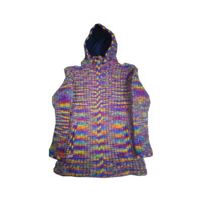 Multi Color Woolen Jacket