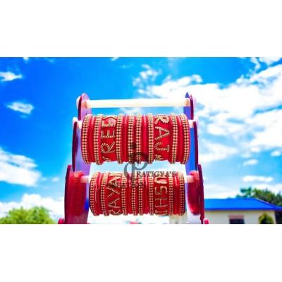 Hand-made Silk Thread bangles