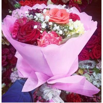 Mix Color Carnation Bouquet