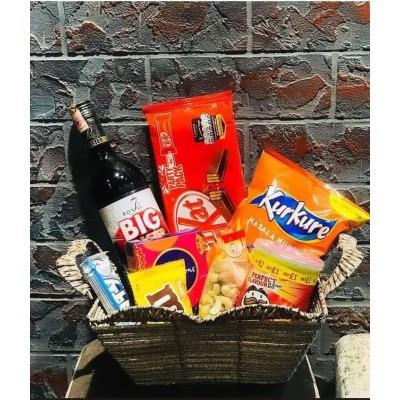 Bhai Tika Gift Basket- Large