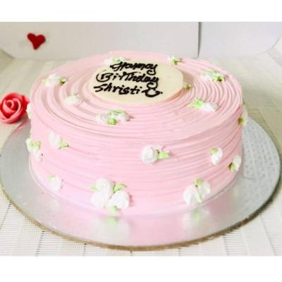 White Chocolate Cake With Customized Layering- Per 1 Pound