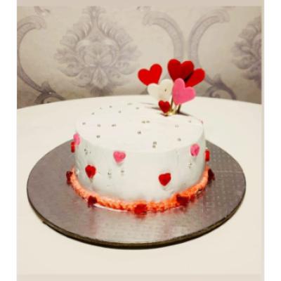Half Pound Vanilla Cake