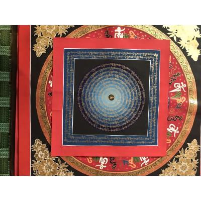 Buddha Mantra Thangka (50/50cm)