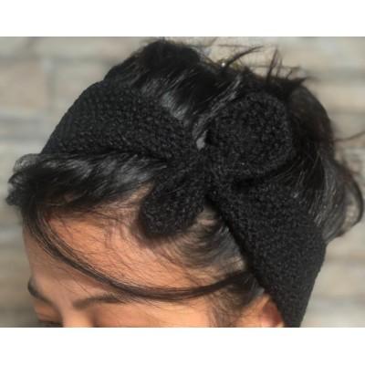 Woolen Headbank Different Design For Women (Color May Vary)