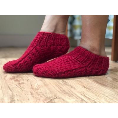 Woolen Ankle Socks For Women- Per Pair