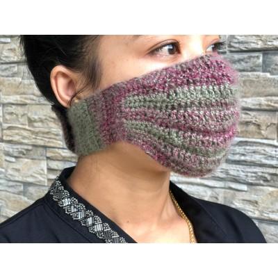 Multi Color Woolen Mask
