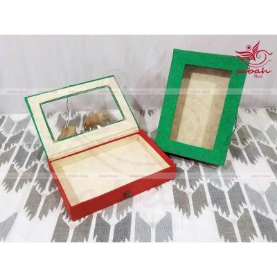 Lokta Rectangle Gift Box