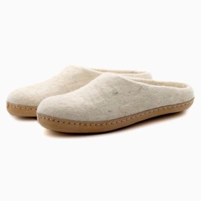 Felt Slippers (Oatmeal)