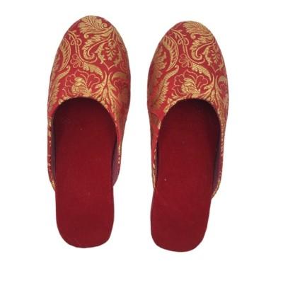 Deep Red Banarasi