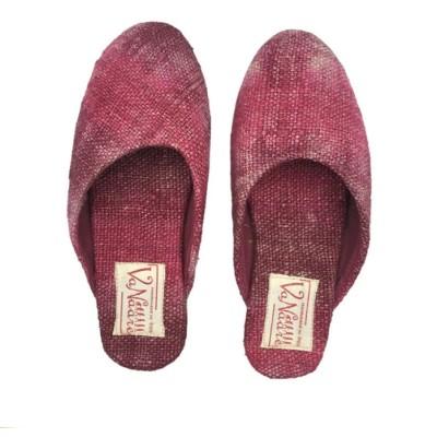 Hemp Pink Dye Mule Shoe