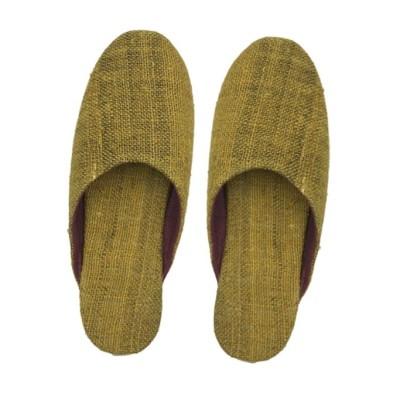Hemp Yellow Mule Shoe