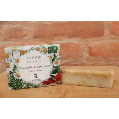 Chamomile and Rose Petal Facial Soap