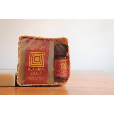 Kapha Soap & Oil Gift Basket