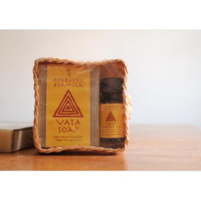 Vata Soap & Oil Gift Basket