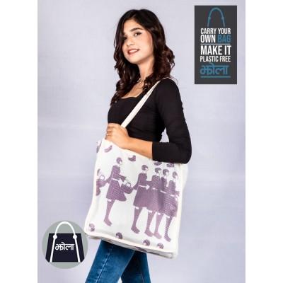 Multi Purpose Tote Bag With Print