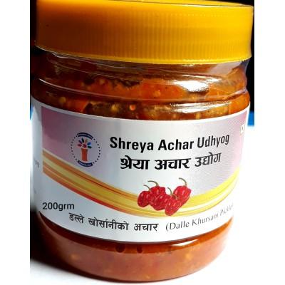 Dalle khursani Ko Achar (Dalle Khursani Pickle)- 200 Grm