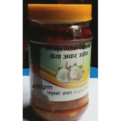Lasun ko Achar (Garlic Pickle)- 400 Grm