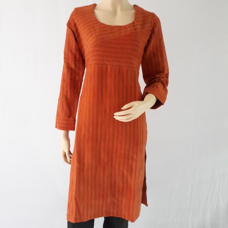 Handloom Woolen and Cotton Kurti
