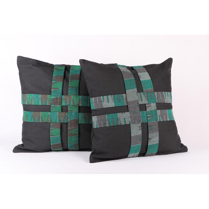 Crisscross Cushion Cover- Per Piece