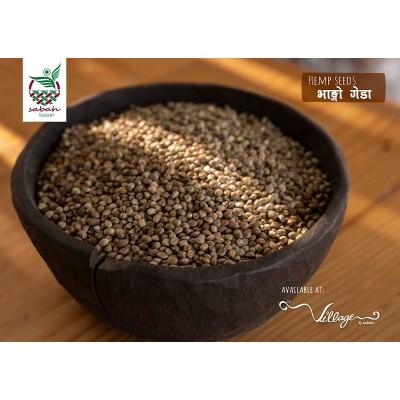 Hemp Seed- 500 Grm (Village By Sabah)