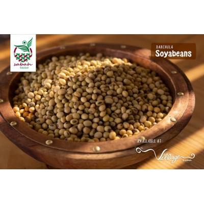White Soybean- 500 Gram (Village By Sabah)