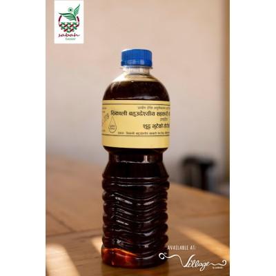 Mustard Oil (Tori Ko Tel)- 1 ltr (Village By Sabah)