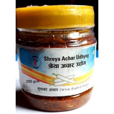 Mula Ko Achar (White Raddish Pickle) - 200 grm